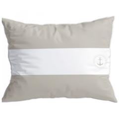 Santorini cushion set / flags / beige