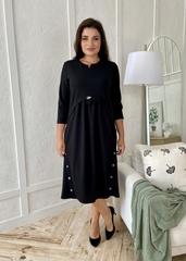 Фріда.  Красива сукня для дівчат і жінок. Чорний