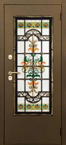 Дверь № 53 U (антрацит, остекленная экошпон), фабрика Profil Doors
