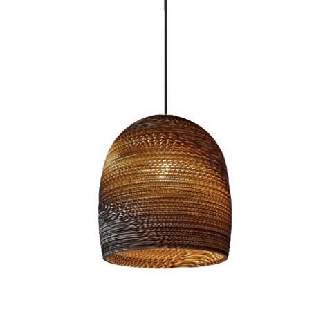 Подвесной светильник Bell Scraplight by Graypants D35