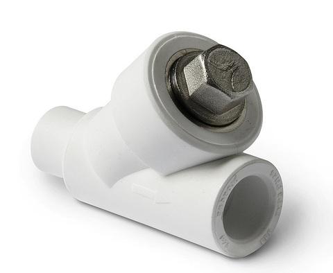 Фильтр полипропиленовый Pro Aqua 20 мм. косой сетчатый внутр./нар.