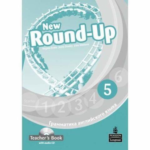 New Round-Up 5. Virginia Evans. Teacher's Book. Книга для учителя