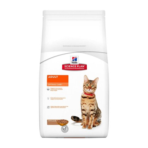 Hill's сухой корм для кошек (ягненок) 400г