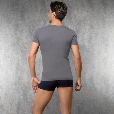 Мужская футболка серая Doreanse 2820