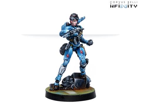 Patsy Garnett, Orc Troops Varuna Div. NCO (Submachine Gun)