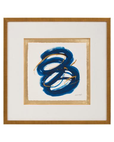Dyann Gunter's Blue and Gold III