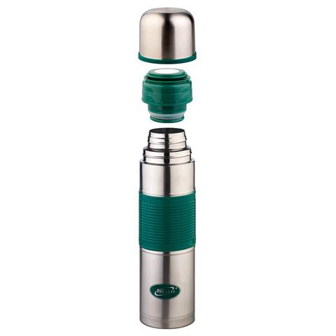 Термос Biostal Flër (0,5 литра) с силиконовой вставкой, зеленый