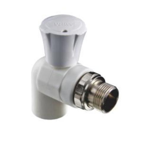 Клапан PPR для подкл. радиатора угловой 20 х 1/2''