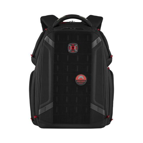 Рюкзак WENGER Tech Player One с отделением для ноутбука, цвет чёрный, 49х38х26 см., 29 л. (611650)