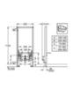 Система интсалляции для биде Grohe Rapid SL  38553 001 схема