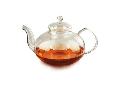 Чайник для варки из жаропрочного стекла 1500 мл