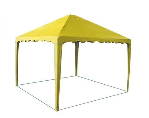 Шатер-беседка 2,5 х 2,5 желтая