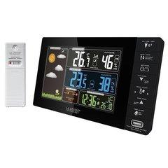 Домашняя метеостанция LaCrosse WS6827 с цветным экраном