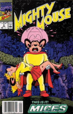Mighty Mouse #4 (1991)