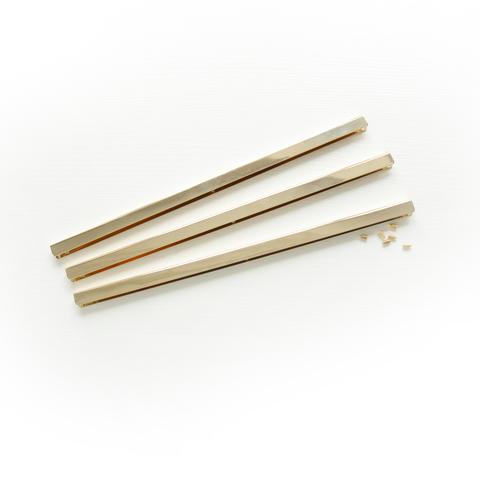 Металлическая кромка 0,5*0,8*22 см, золото