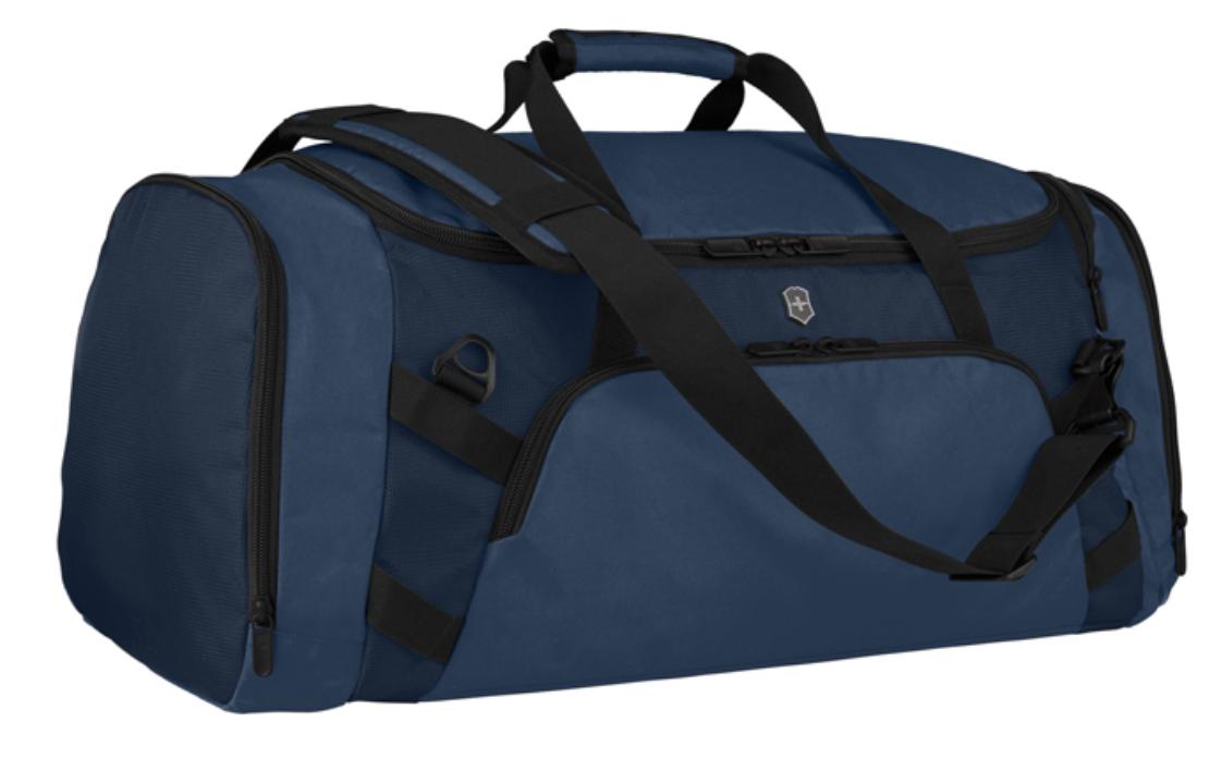 Рюкзак-сумка VICTORINOX VX Sport Evo 2-in-1 Backpack/Duffel, цвет синий, полиэстер, 65x37x28 см., 57 л. (611421) Wenger-Victorinox.Ru
