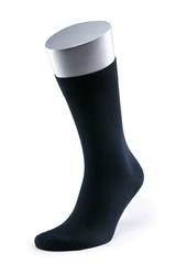 Носки мужские MS 04/0  80 мерс/20 п/а черн., 46-48 больших размеров марки Делфино