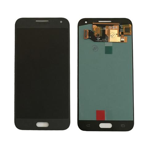 LCD SAMSUNG E5 E500F + Touch Black Orig MOQ:5