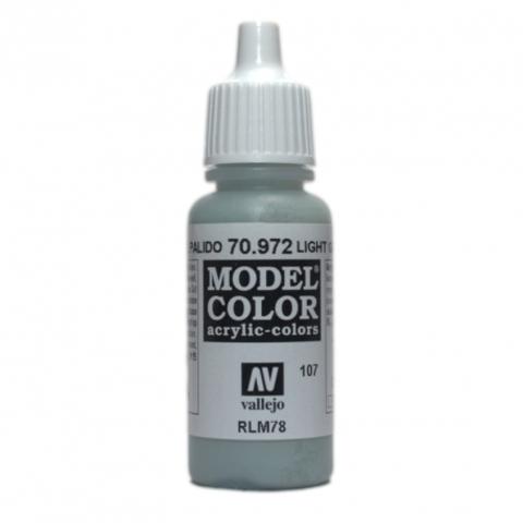 Model Color Light Green Blue 17 ml.