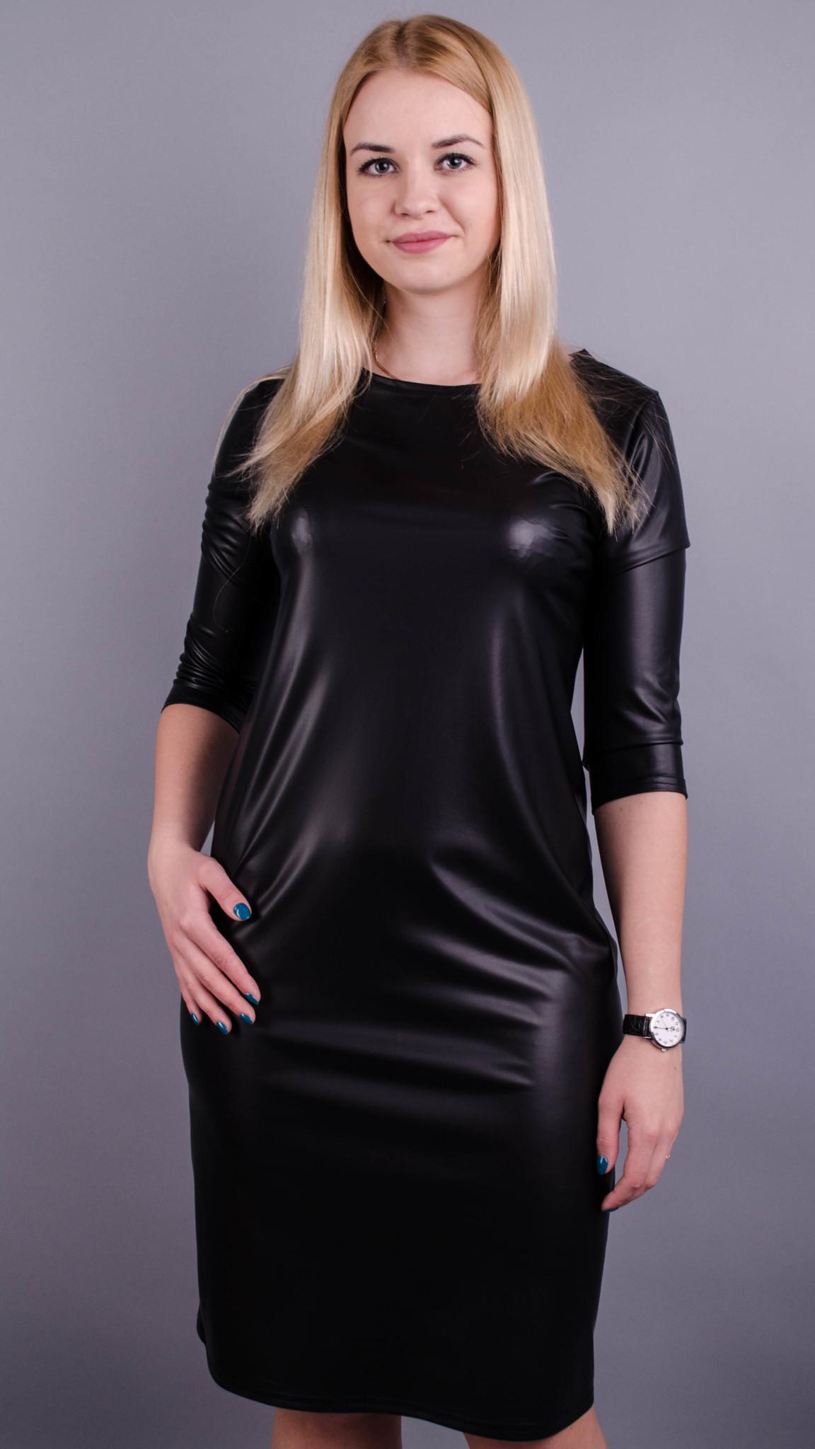 Платье Арина (масло-кожа)
