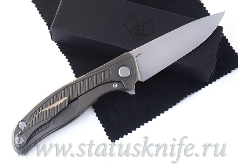 Нож Широгоров Shirogorov F95R19 M390 Brown - фотография