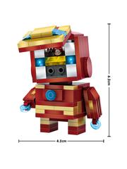 Конструктор LOZ mini Железный человек 144 детали NO. 1402 Iron Man BrickHeadz
