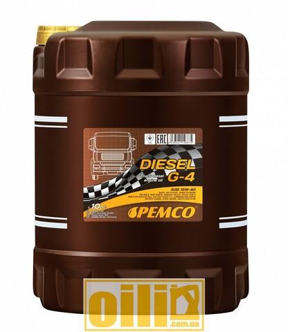 Pemco DIESEL G-4 SHPD 15W-40 10л