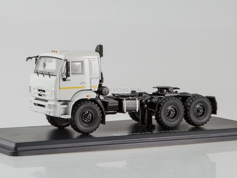 KAMAZ-44108 road tractor white 1:43 Start Scale Models (SSM)