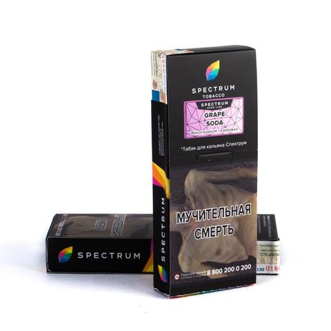 Табак Spectrum Hard line Grape Soda 100 г