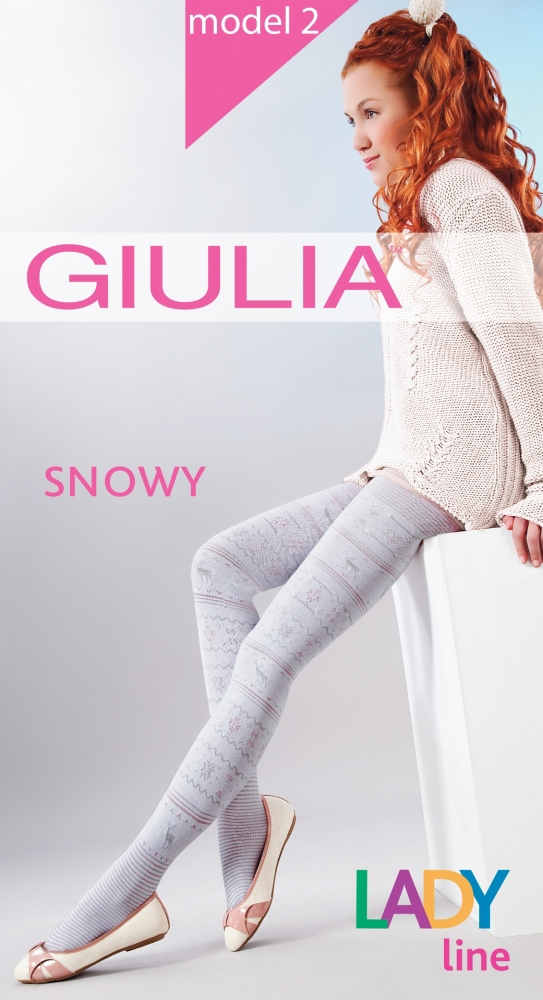 Колготки Giulia Snowy 02