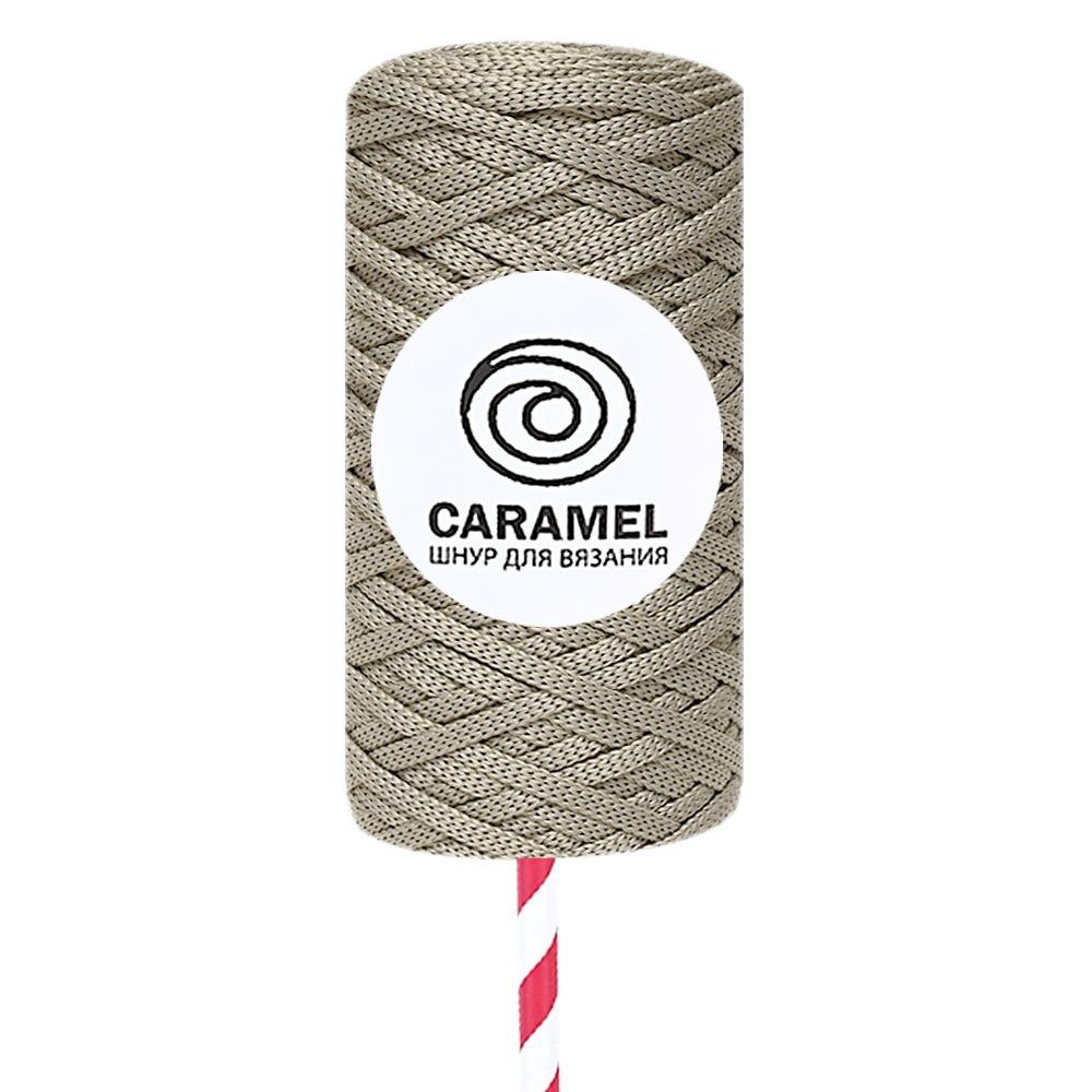 Плоский полиэфирный шнур Caramel Полиэфирный шнур Caramel Пралине praline-1000x1000_1_.jpg