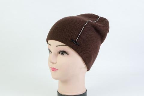 Женская шапка коричневая SH AH-6101