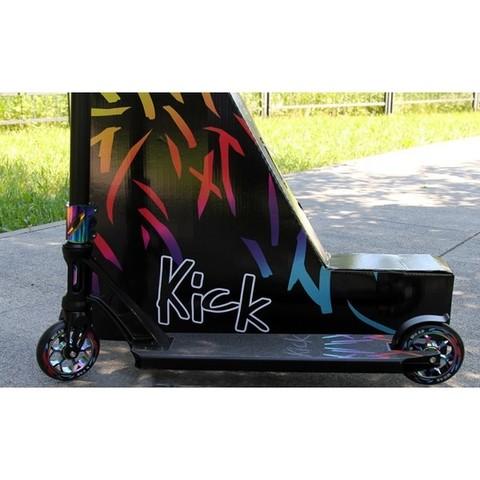 Трюковой самокат Micar Kick Black neo-chrome
