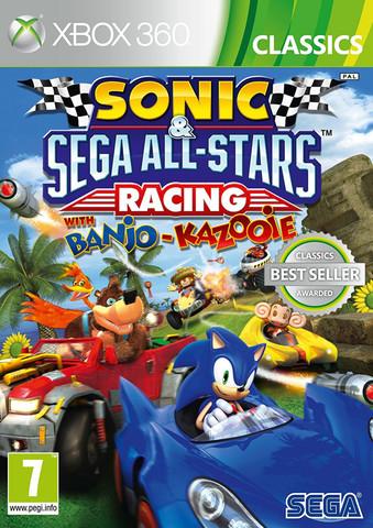 Sonic & SEGA All-Stars Racing with Banjo-Kazooie (Xbox 360, английская версия)