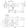 Смеситель для ванны Migliore Opera ML.OPR-6002 схема