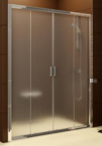 Душевая дверь Ravak Blix BLDP4 - 120 блестящий + транспарент 0YVG0C00Z1