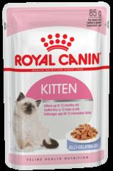 Пауч для котят с 4 до 12 месяцев, Royal Canin Kitten Instinctive (в желе)