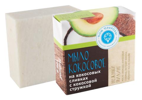 МДП Натуральное мыло на кокосовых сливках НЕЖНЫЙ ПИЛИНГ, 90г