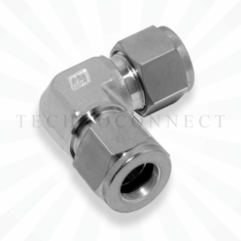 CLA-2M  Соединитель угловой: метрическая трубка  2 мм - метрическая трубка   2 мм
