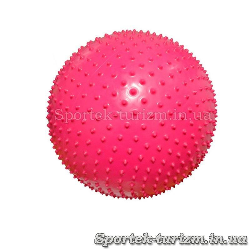 Мяч для фитнеса массажный диаметром 55 см