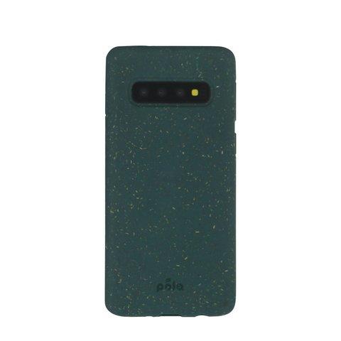Чехол для телефона Pela Samsung S10+ зеленый