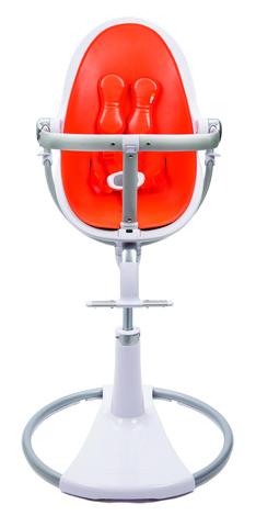 Стульчик Bloom Fresco Chrome White Harvest Orange