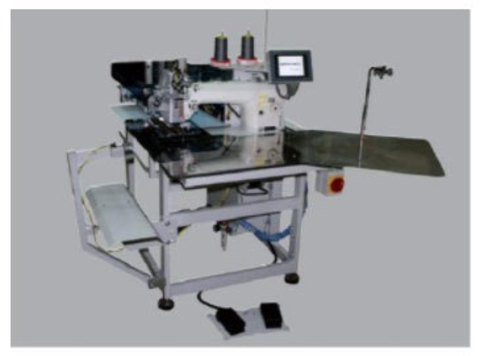 Машина для заготовки планки рубашки поло Robotech XP 7000 | Soliy.com.ua