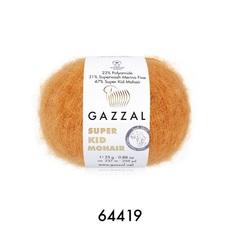 Пряжа Gazzal Super Kid Mohair цвет 64419