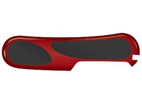 Задняя накладка для ножей Victorinox 85 мм, пластиковая, красно-чёрная