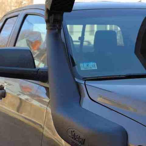 Установка шноркеля на Toyota Tundra