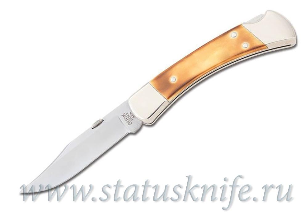 Нож BUCK 110 Folding White Bone