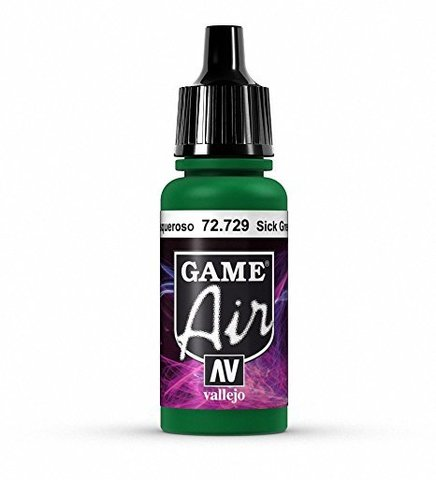 Game Air Sick Green 17 ml.