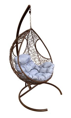 Кресло подвесное Ferrol brown/grey