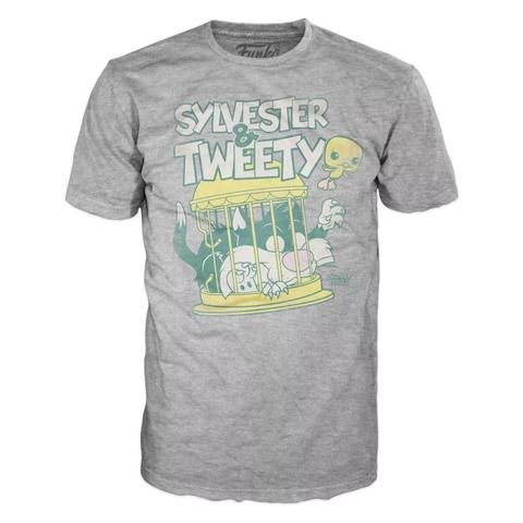Футболка Funko POP and Tee: Looney Tunes: Sylvester & Tweety (M)